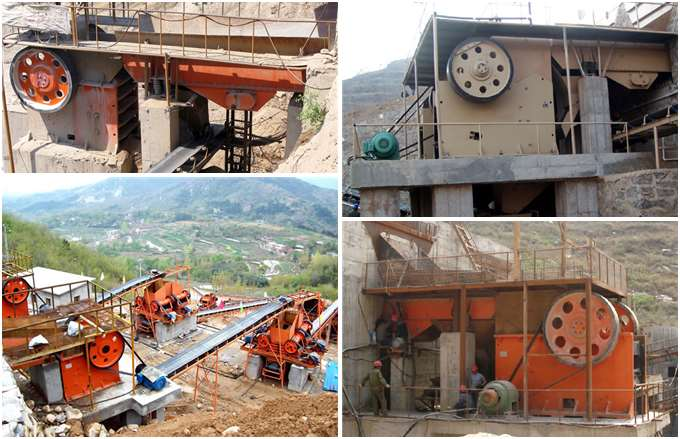 PE 1200*1500 Jaw Crusher Production Site