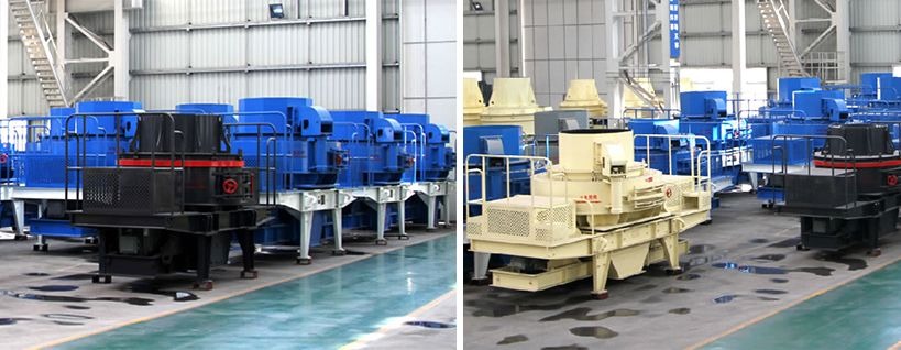 Impact silica sand crusher machine