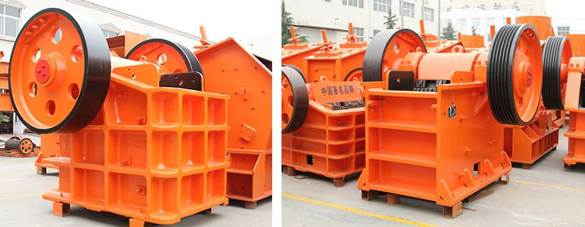 Granite jaw crusher