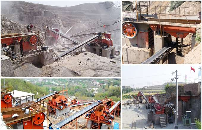 PE 500*750 Jaw Crusher Production Site