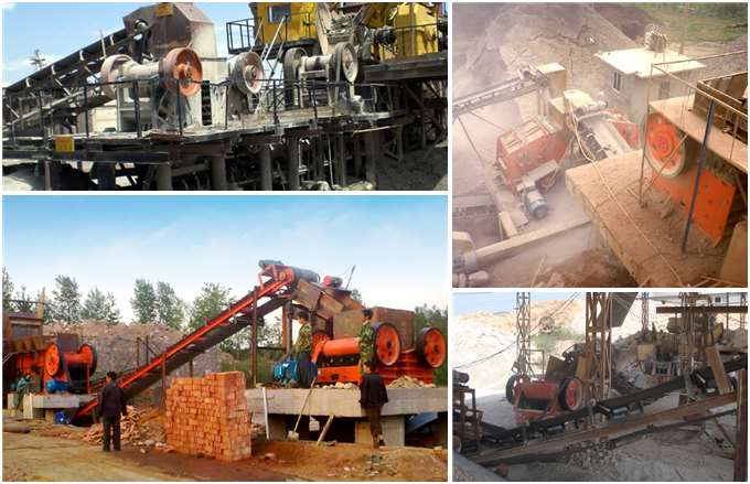 PE 600*900 Jaw Crusher Production Site