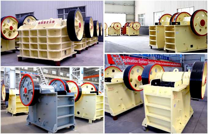 600 T/H Jaw Crusher