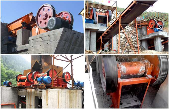 600 T/H Jaw Crusher Production Site