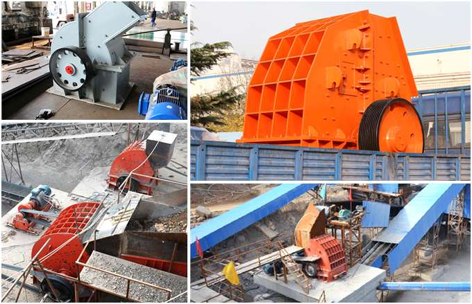 Hammer Crusher Production Site and Delivery Site