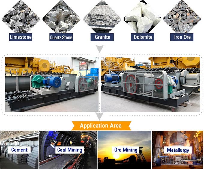 Roll Crusher Material Processing