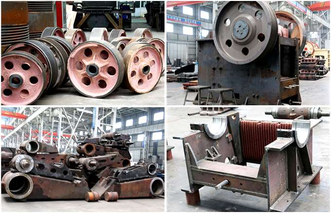 Jaw Crusher Semi-finished Products