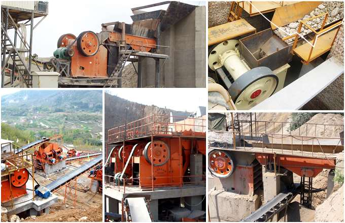 Jaw Crusher Production Site