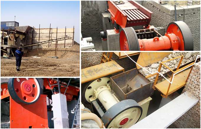 Euro Jaw Crusher Production Site