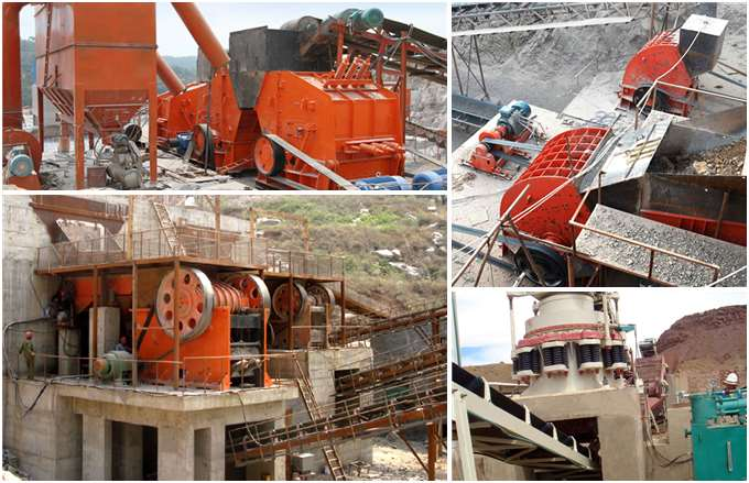 Large Jaw Crusher Production Site