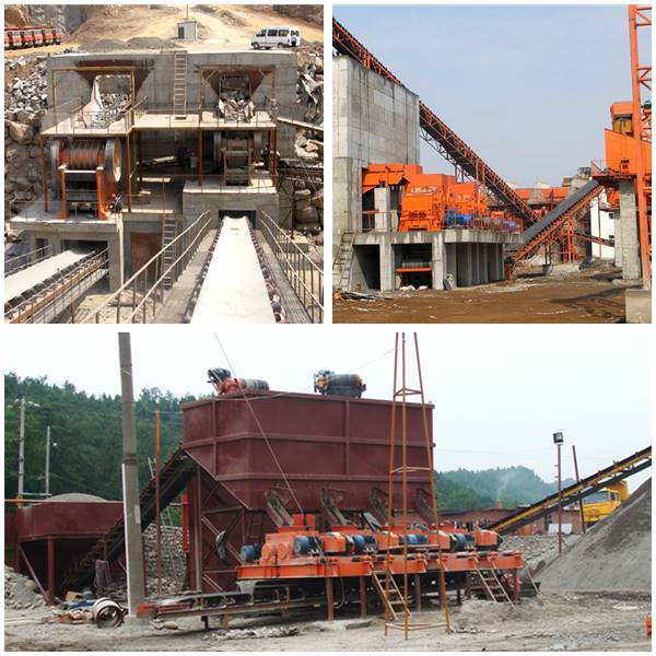 Small Jaw Crusher Work Site